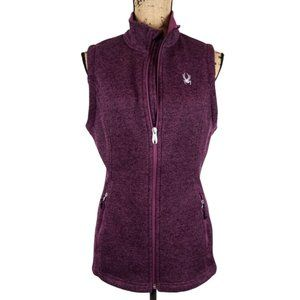 Spyder Endure Core Zip Sweater Vest -N1284